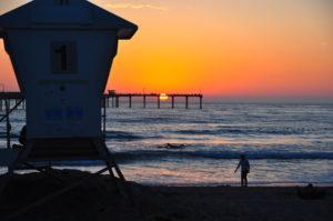Sunset at Ocean Beach (San Diego, CA)